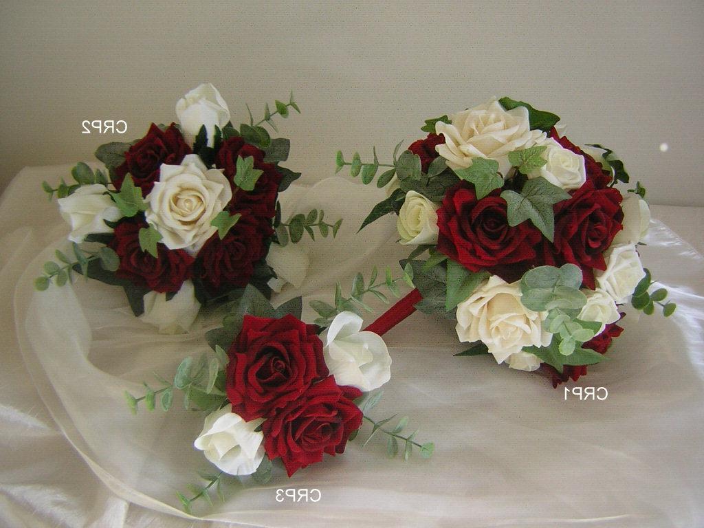 Red Wedding Flowers: Capri