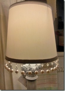 10 Whitewashed lamp SHADE