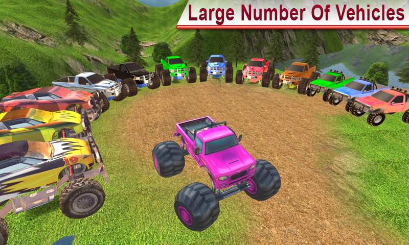 Offroad Monster Truck Hill Rennen android spiele download