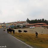 """Mais um """"pueblito""""  rumo a Baños, Equador"""