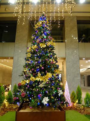 新宿マインズタワーのクリスマスイルミネーション2015