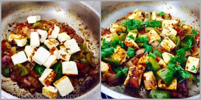 Kadai Paneer recipe Restaurant Style | Paneer Recipes 7