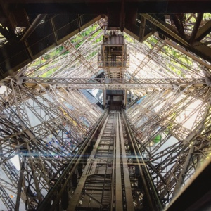 inside The Eiffel Tower