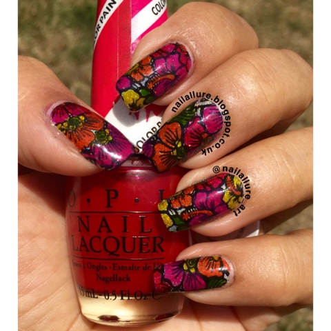 OPI Color Paints Leadlight Stamping Dashica Infinity 42 Nails