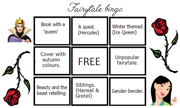 Bingo fairytale card