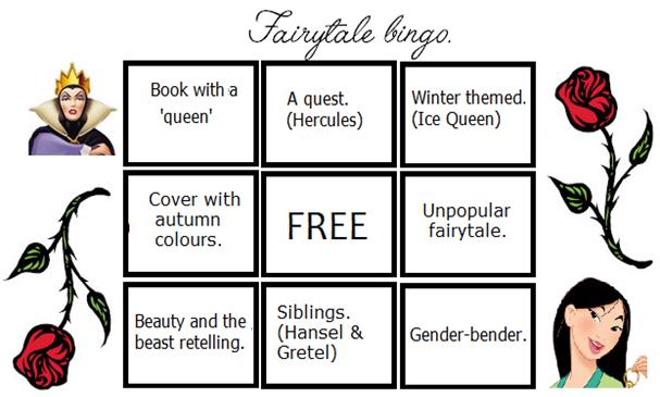 Bingo fairytale card