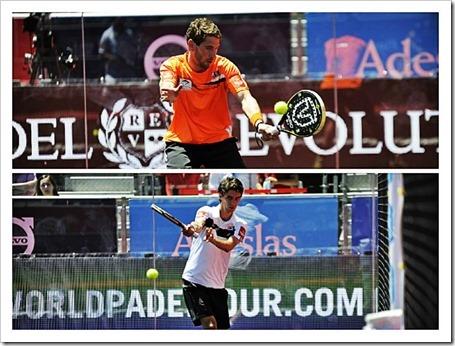 Alex Ruiz y Maty Marina ganan a los canarios Aday Santana y Jordi Muñoz 4/6-6/3-7/5