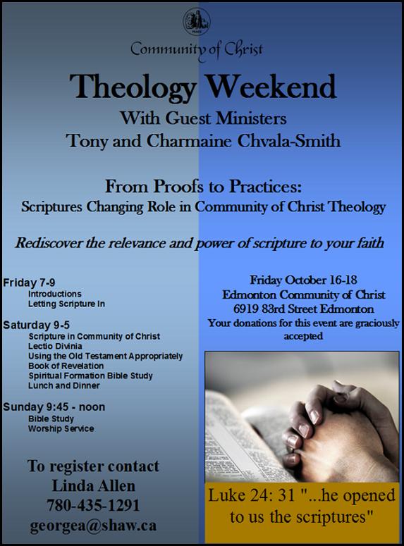 Edmonton Theology Wknd 2015