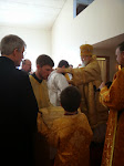 Reader Aidan's ordination to subdiaconate