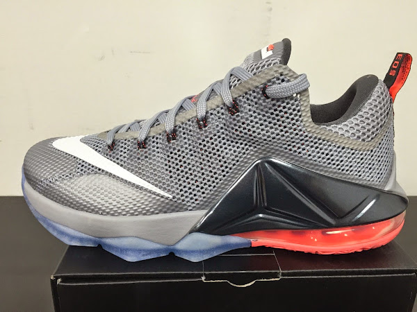 Detailed Look at Upcoming Nike LeBron 12 Low 8220Hot Lava8221