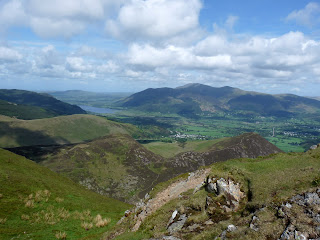 Causey Pike Summit to Skiddaw.
