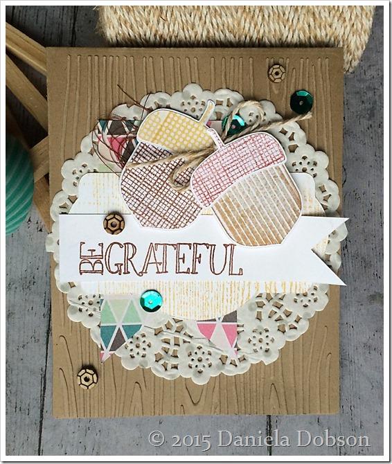 Be grateful by Daniela Dobson