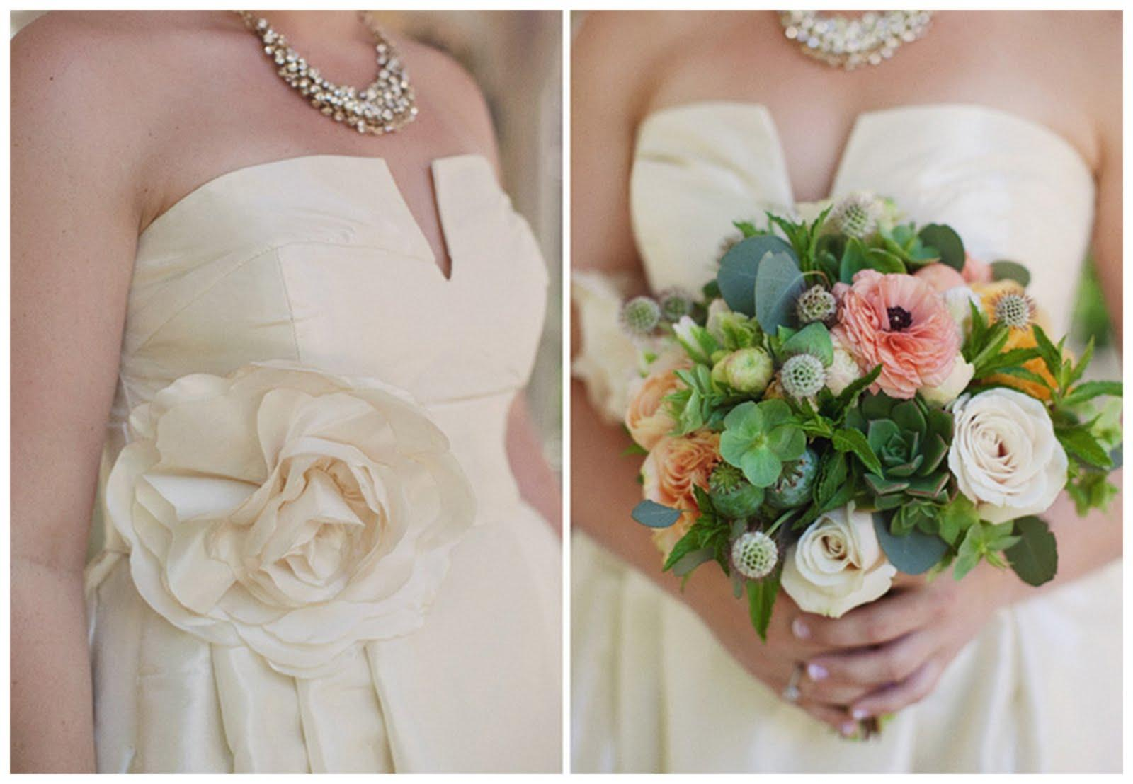 Real Shabby-Chic Wedding: