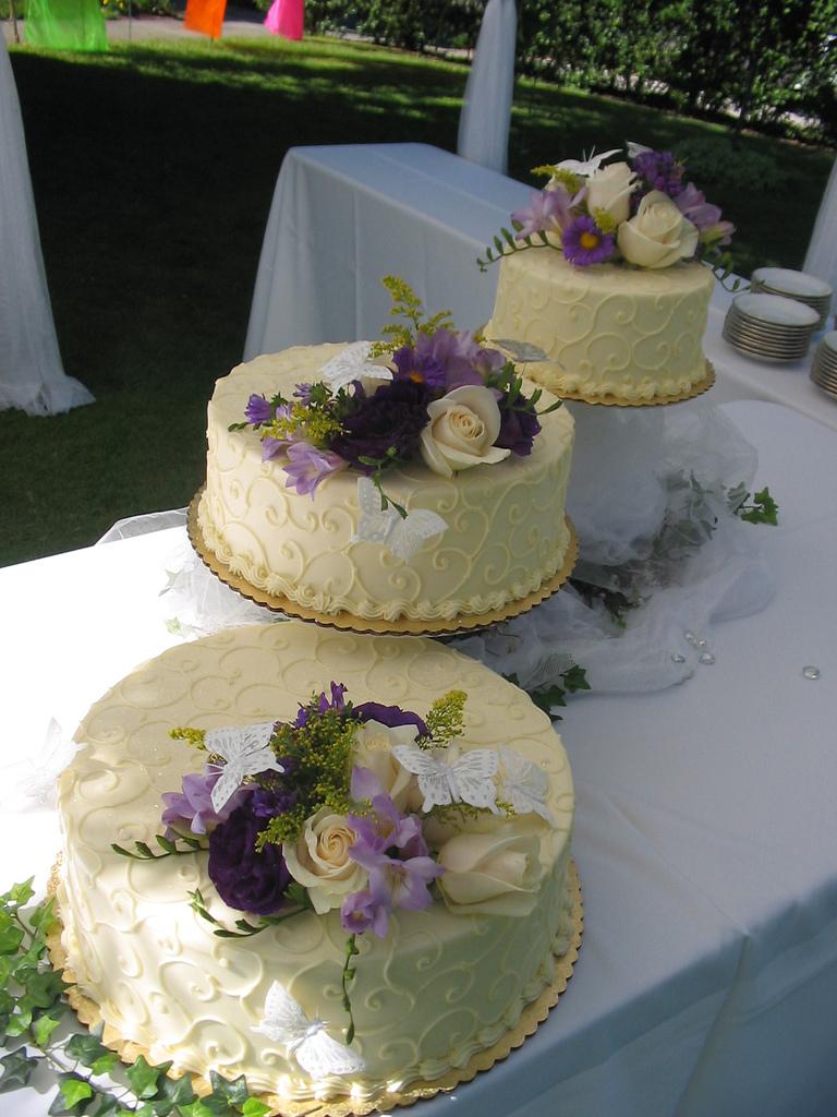 Wedding decorating outdoor