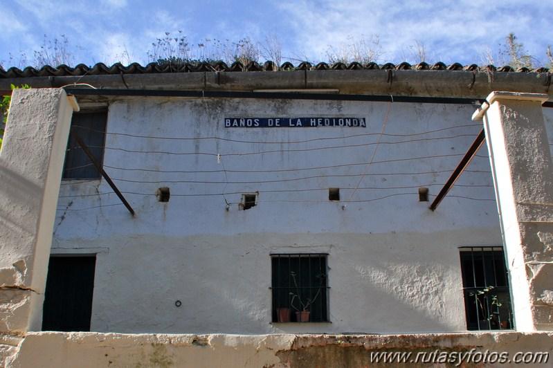 Baños Romanos Hedionda: : Torcal y Canuto de la Utrera – Baños de la Hedionda – Rio Manilva