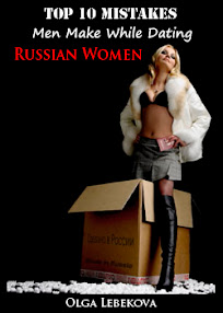Cover of Olga Lebekova's Book Top 10 Mistakes Men Make While Dating Russian Women