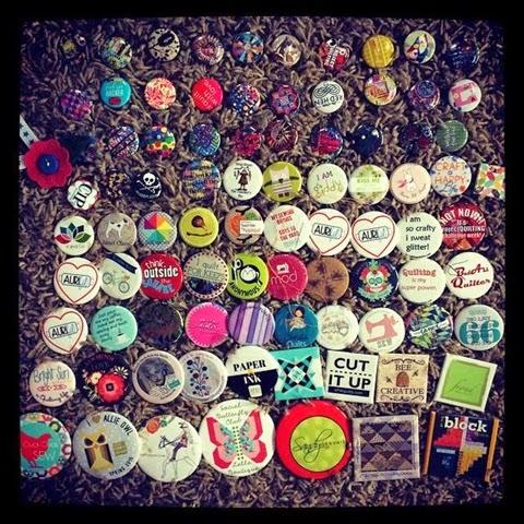 quilt market - pins