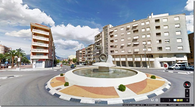 Rotonda Paquito ©GOOGLE STREET VIEW