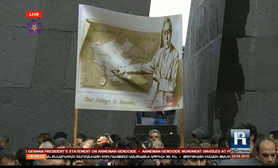 imatge de la commemoracion del genocidi dels Armenians 17