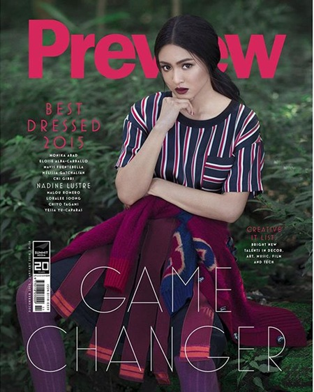 Nadine Lustre - Preview December 2015