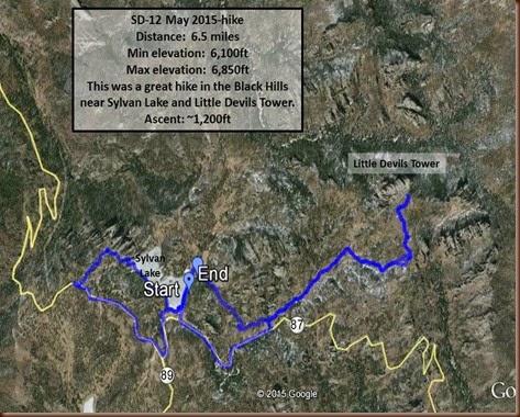 Custer-12 May 2015-hike2