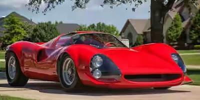 Ferrari Thomassima 1967 Mobil Langka Hanya 3 Unit di Dunia