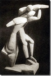 220px-Alexander_Archipenko,_1913,_Recherche_de_plastique,_1913._Erster_Deutscher_Herbstsalon,_Berlin,_1913,_postcard