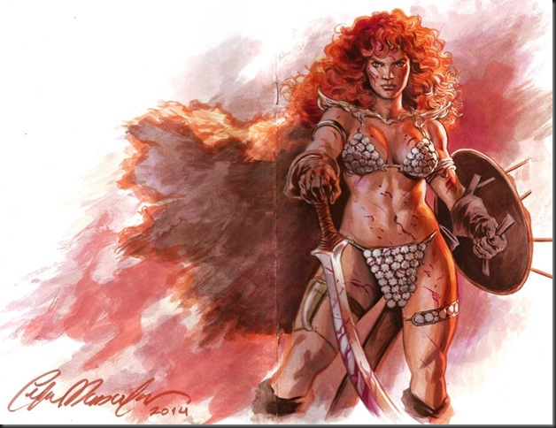 red_sonja_sketch_cover_by_felipemassafera-d8czu9z