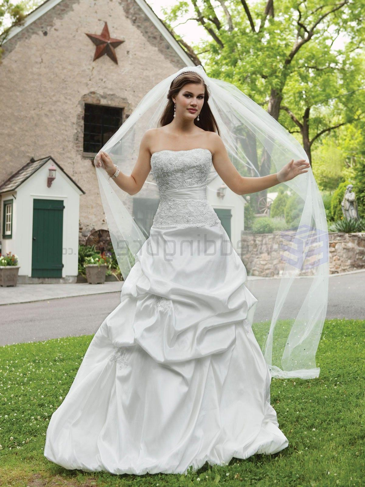 Ball Gown Taffeta Hand-Beaded