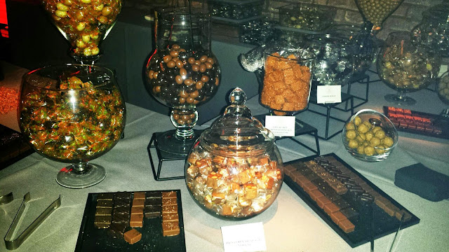 chocolate and candy buffet