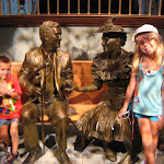 Bryan and Hannah with Roy Acuff and Minnie Pearl in the Ryman Auditorium in Nashville TN 09042011