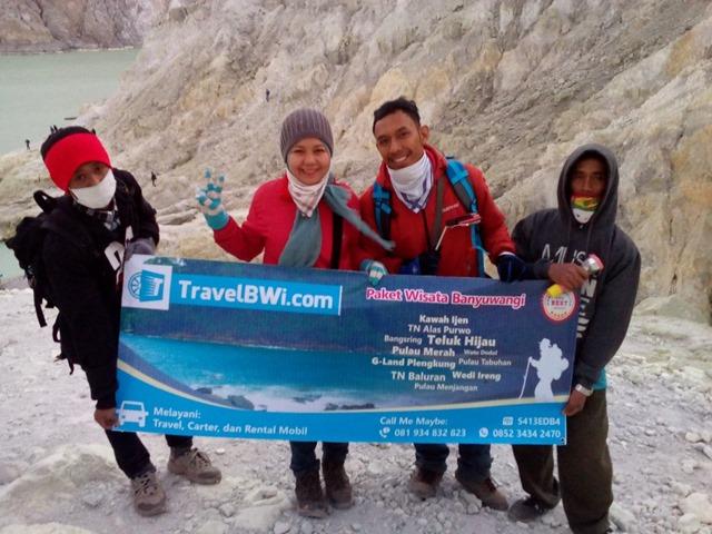 Paket Tour Wisata Kawah Ijen Crater Travel BWi Banyuwangi 2