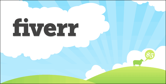 fiverr service selling website