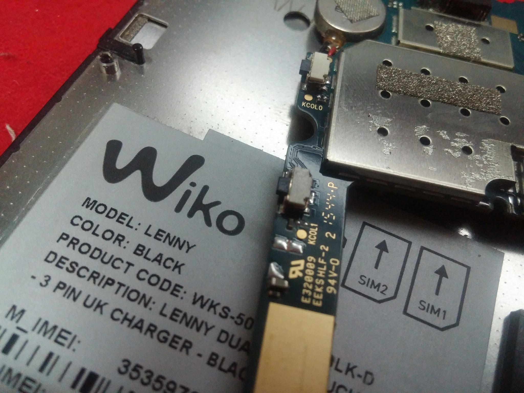 Image of Repair a Dead Wiko Lenny