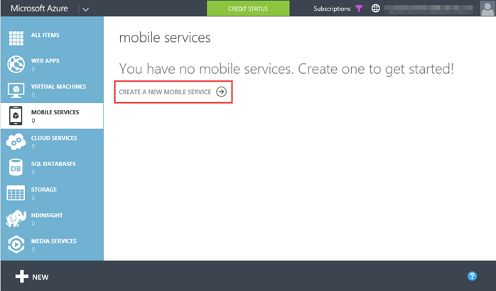 1. Windows Azure - Mobile Service - Home (www.kunal-chowdhury.com)