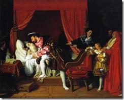 death-of-leonardo-da-vinci-1818