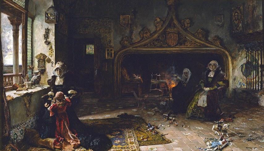 Francisco-Pradilla-juana-la-loca-pintura