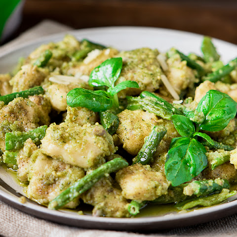 GNOCCHI RECIPE WITH PESTO