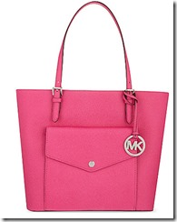 Michael Michael Kors raspberry tote - pale grey also