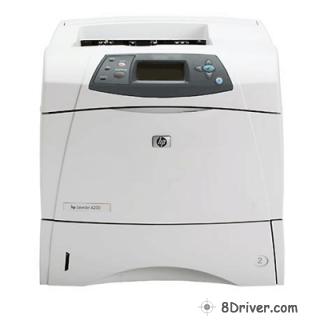 4250 для принтера hp драйвера