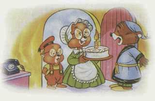 La familia topo y el liron