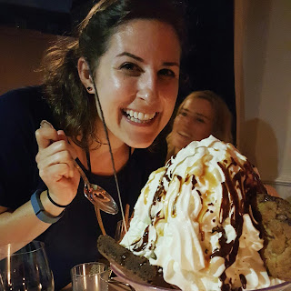 Me with the Mauboussin Mega Sundae