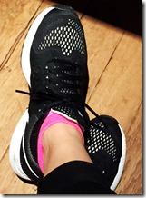 Feetures socks black trainers 2