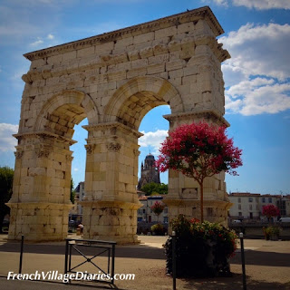 French Village Diaries Cycling Charente-Maritime France River Charentes Saintes Arc de Germanicus