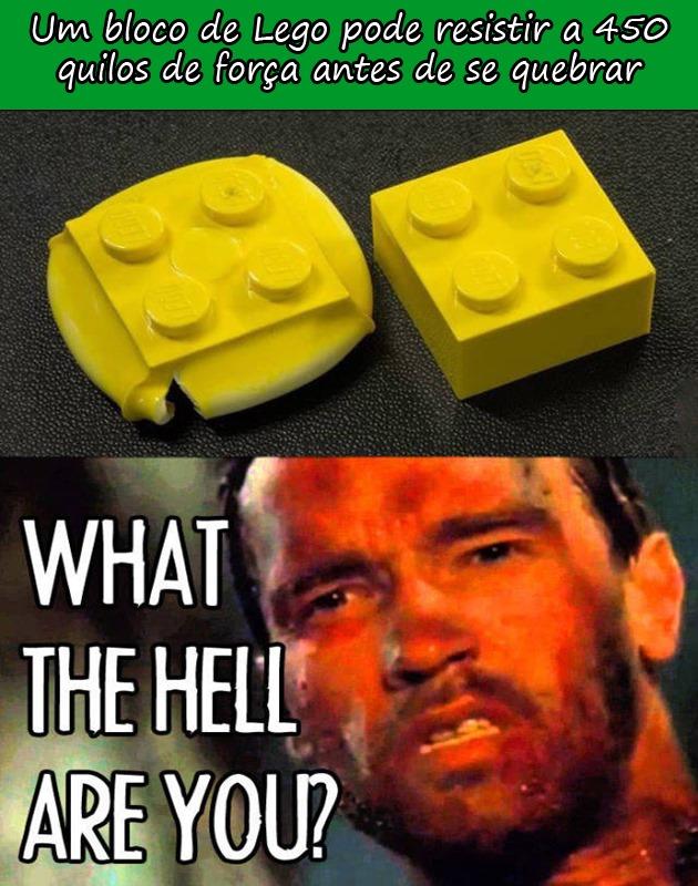 LEGO É DOS INFERNOS