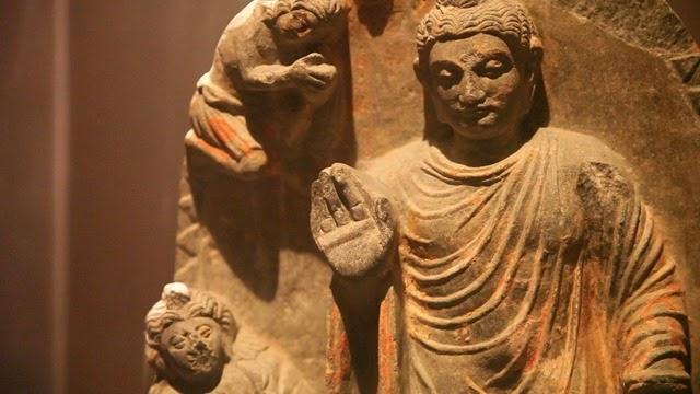 Huffman Buddhastatue
