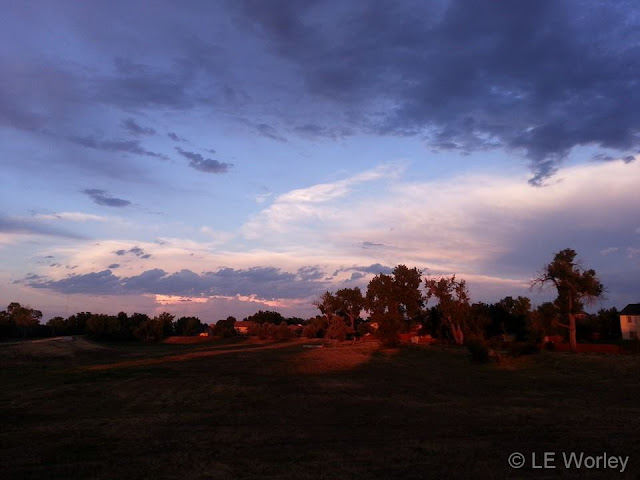 July 3, 2014 - A gorgeous July sunset. (LE Worley)