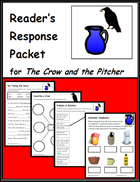 the crow and the pitcher reader's response packet