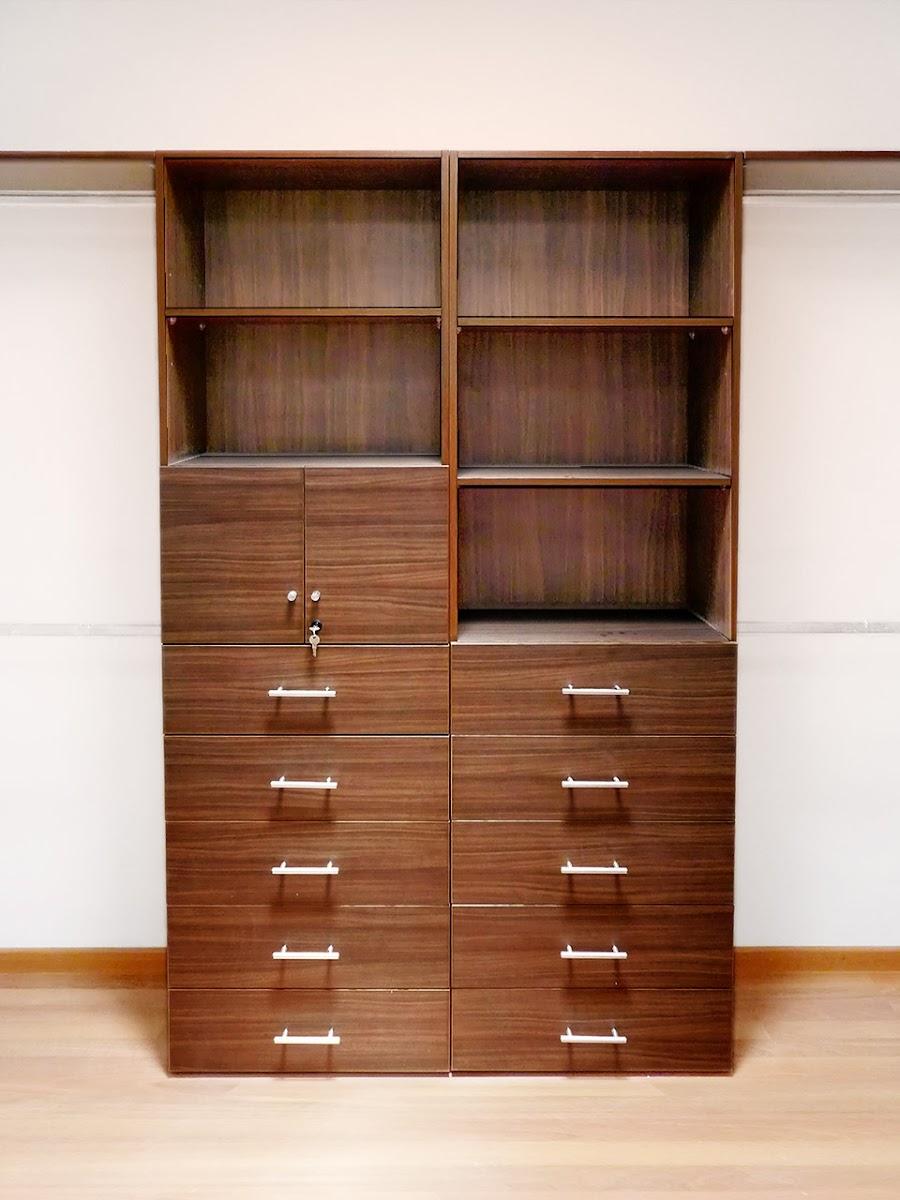Closets econ micos closets de melamina orbis home for Armar closet de madera