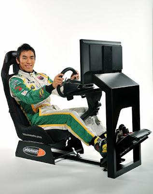 гоночный симулятор Такумо Саты